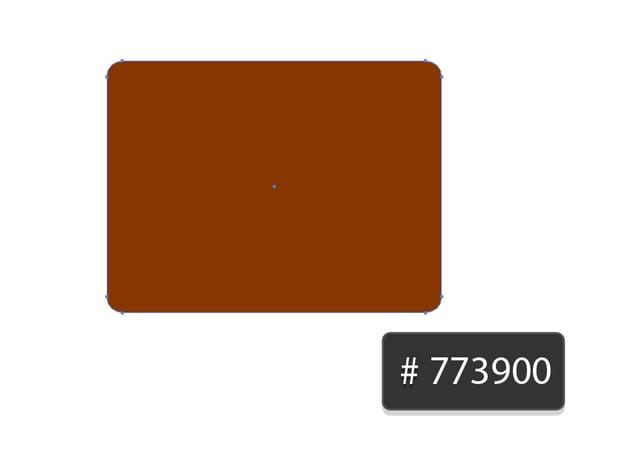 fill color 773900