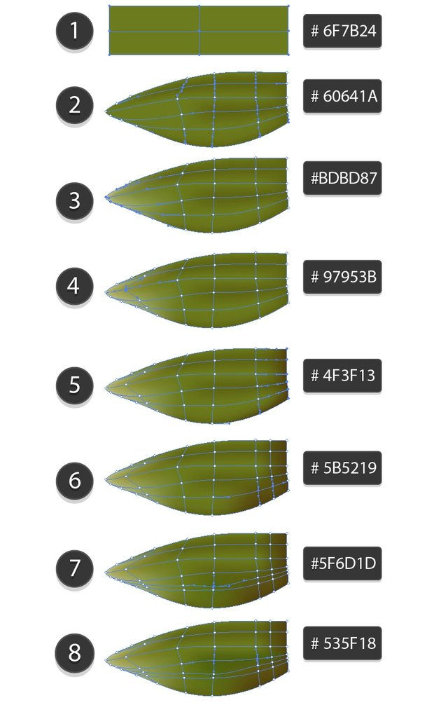 how to create leaves