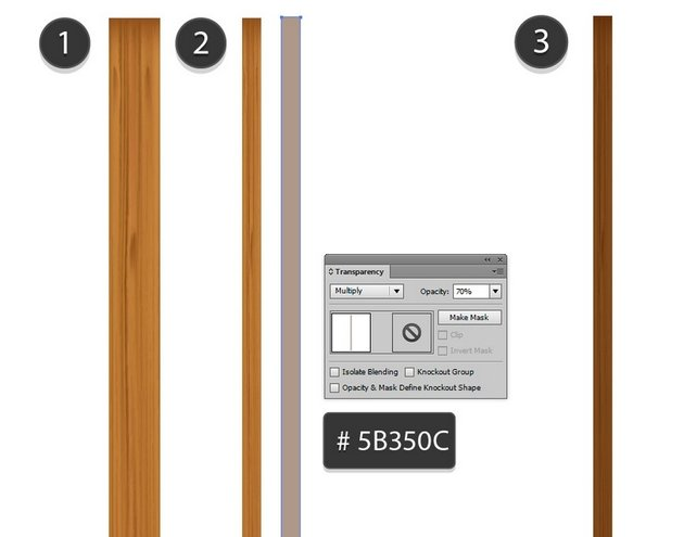create a thinner plank