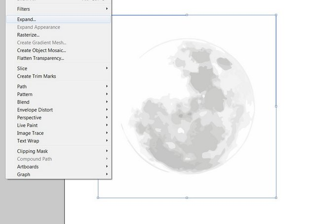 expand moon