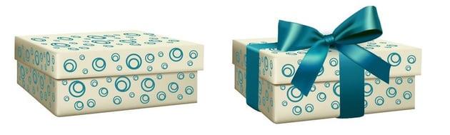 add pattern to box