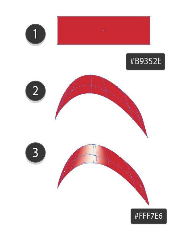 draw mesh bow