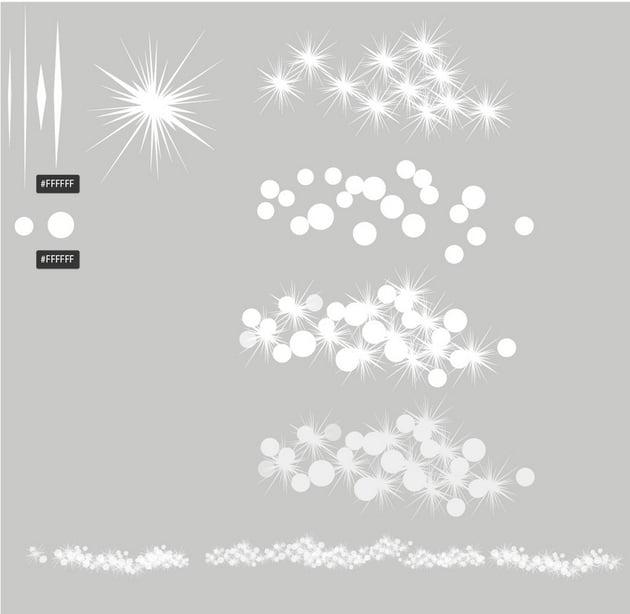 draw snowflakes