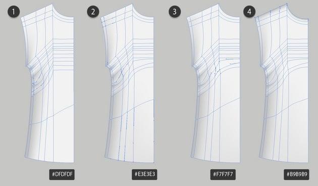 gradient mesh template