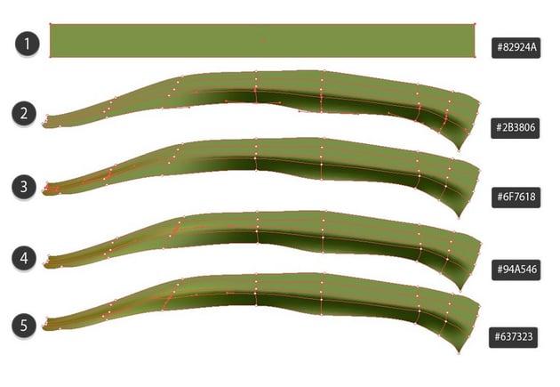 mesh leaf