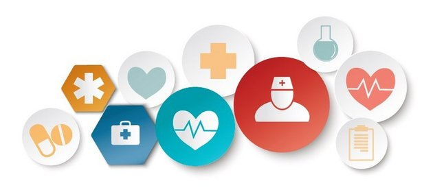 medical icons group