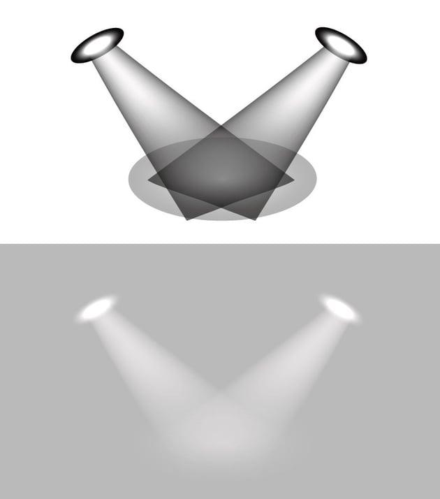 spotlights mesh