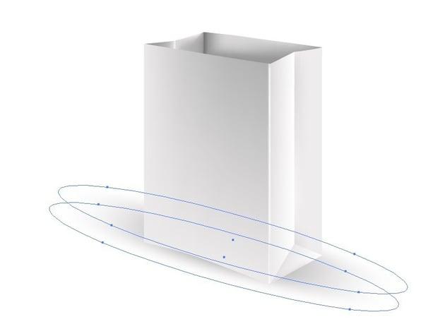 vector paper bag