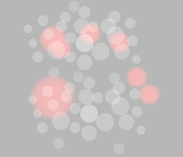 bokeh lights vector