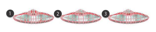 champagne glass mesh