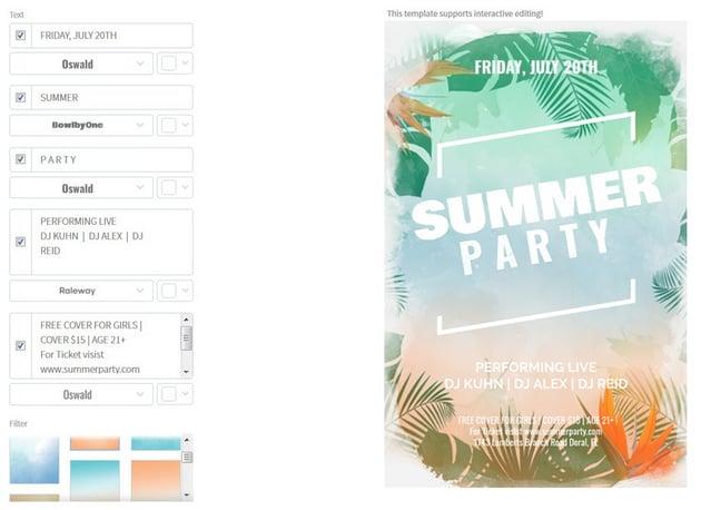 online placeit flyer design tutorial