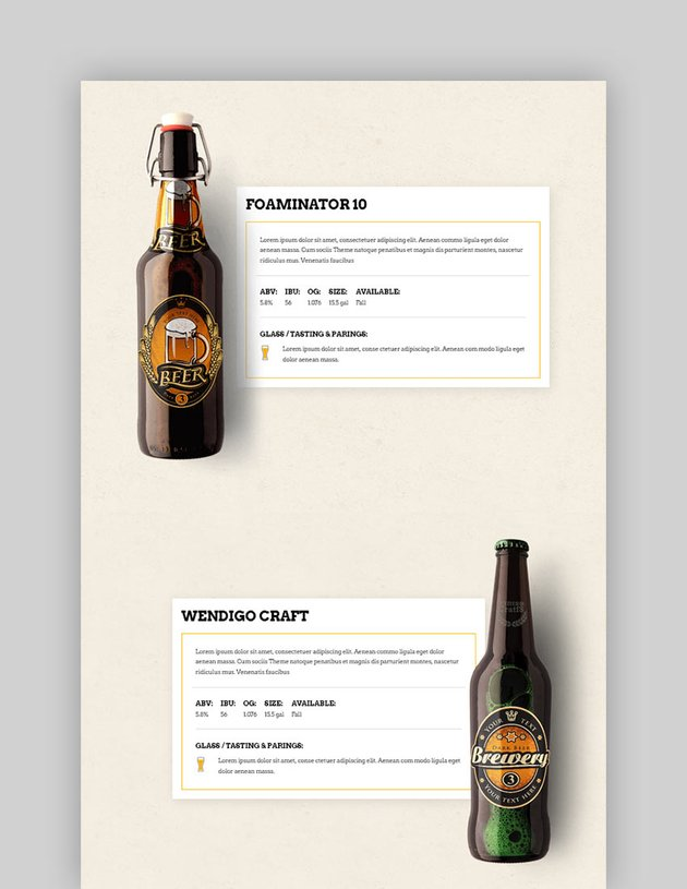 PintsCrafts - Bar Beer  Pub Theme