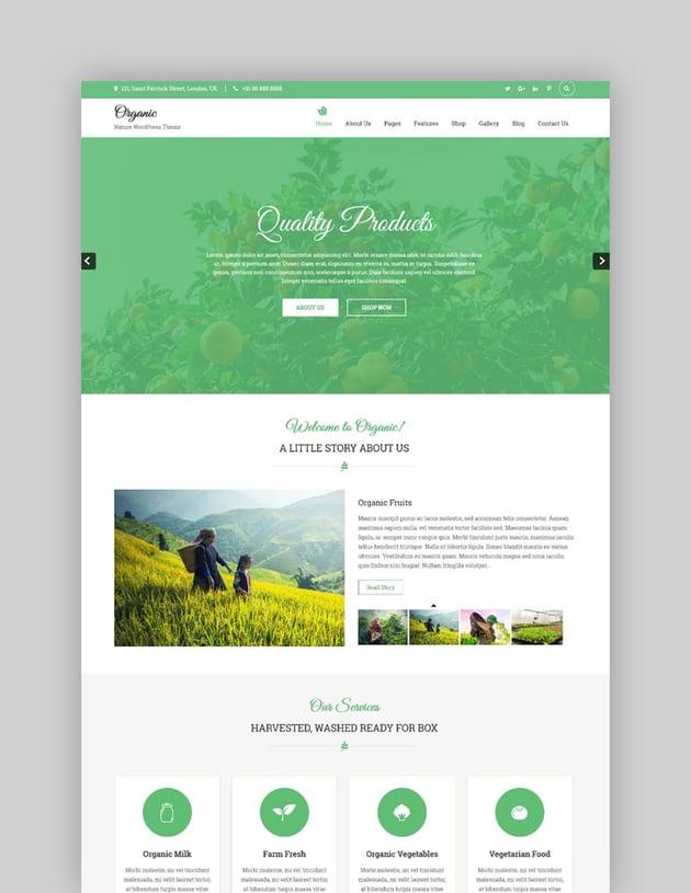 Organic Lite Free WordPress Theme