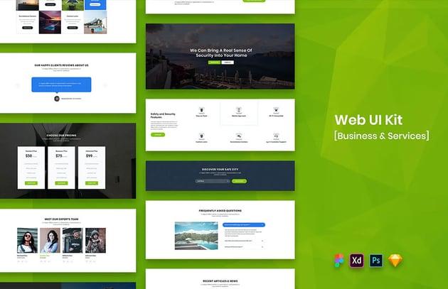 Web UI Kit Business Services