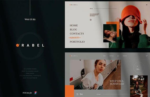 Orabel Web UI Kit