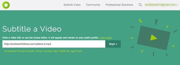 Amara Link to video