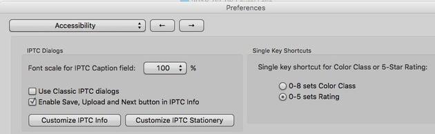 Photo Mechanic Keyboard Shortcuts