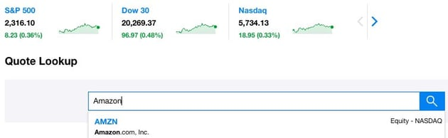 Stock Symbol Lookup