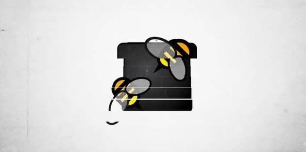 Distracting Logo