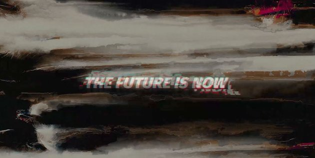 Glitch Logo Opener The Future