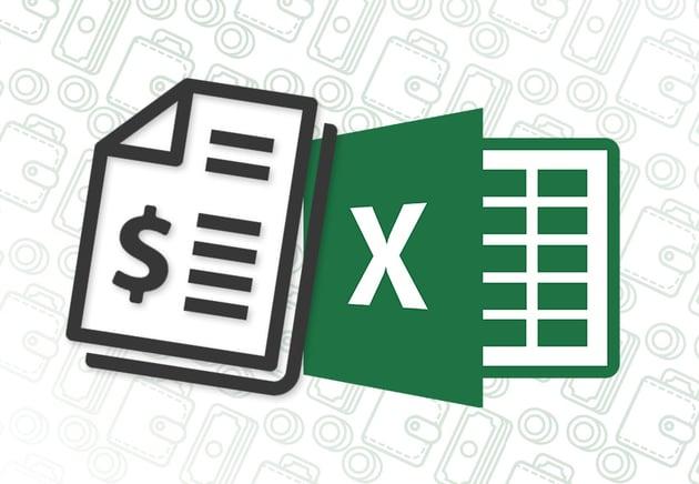 Excel Invoicing Icon