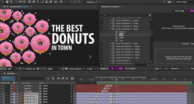Most handy presets Animation Composer