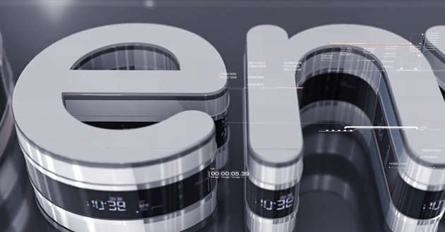 3D Techno Logo
