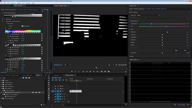 Secondary Color Correction Adobe Premiere