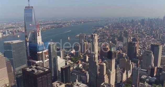 New York View from Above