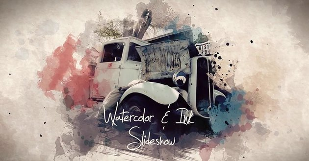 Watercolor and Ink Slideshow