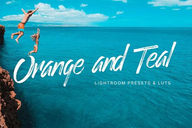 Orange and Teal Lightroom Presets