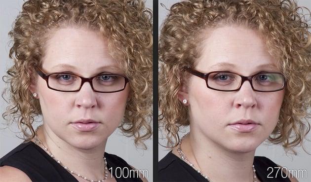 Portrait Lens Focal Length Comparison