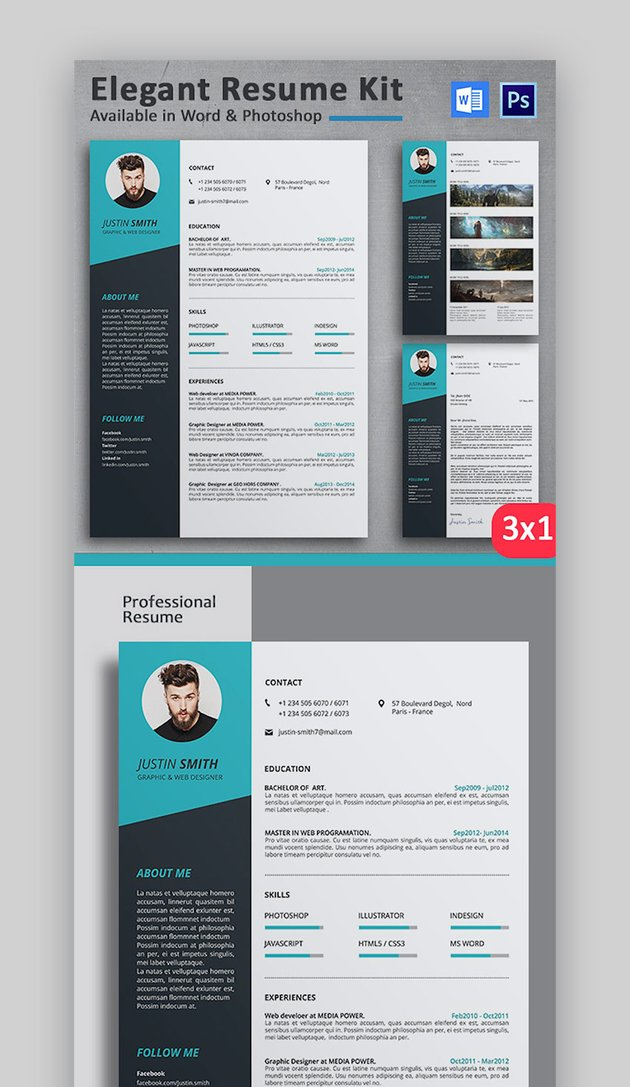 Elegant Resume Kit