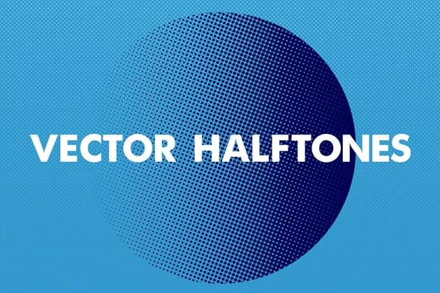 Clean Vector Halftones