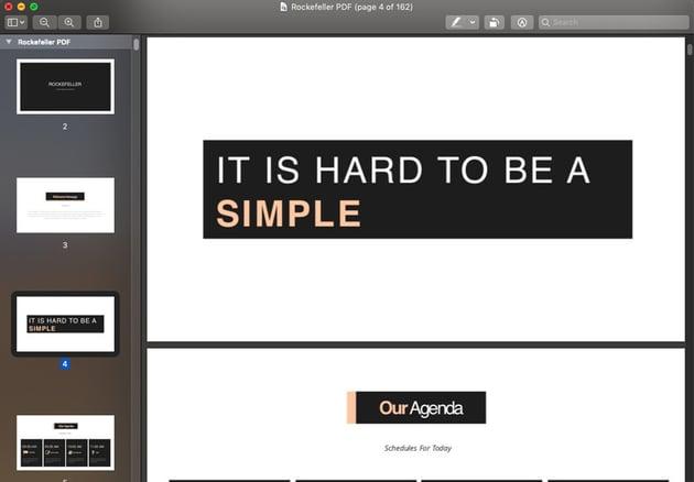 PDF version of a presentation