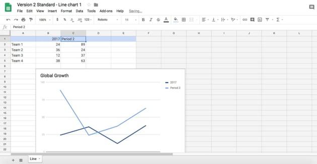 Adjust data in Sheets