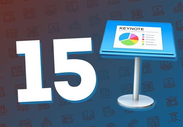 15 Best Keynote Tutorials  Videos