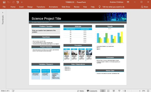 Microsoft Office Template library