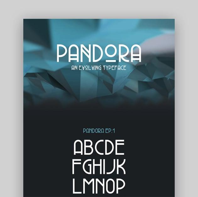 Pandora Typeface