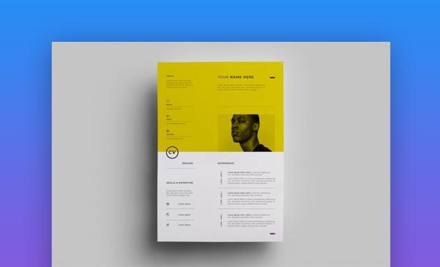 Resume Design Templates 13