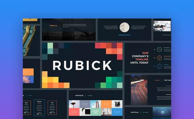 Rubick Keynote Template