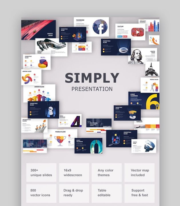 Simple Google Slides Template