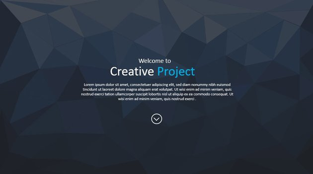 plantilla Creative Project