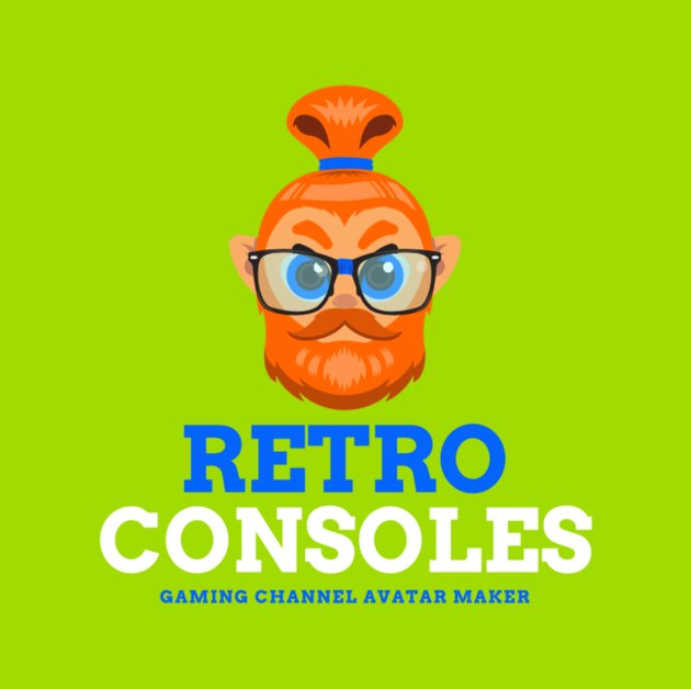 Gaming Logo Creator with Hipster Avatar