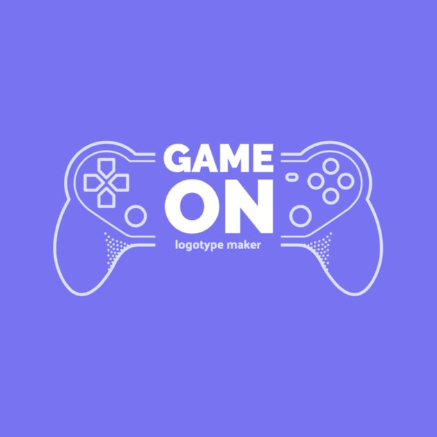 Twitch Logo Maker with Game Controller