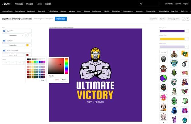 Customize the Color Scheme
