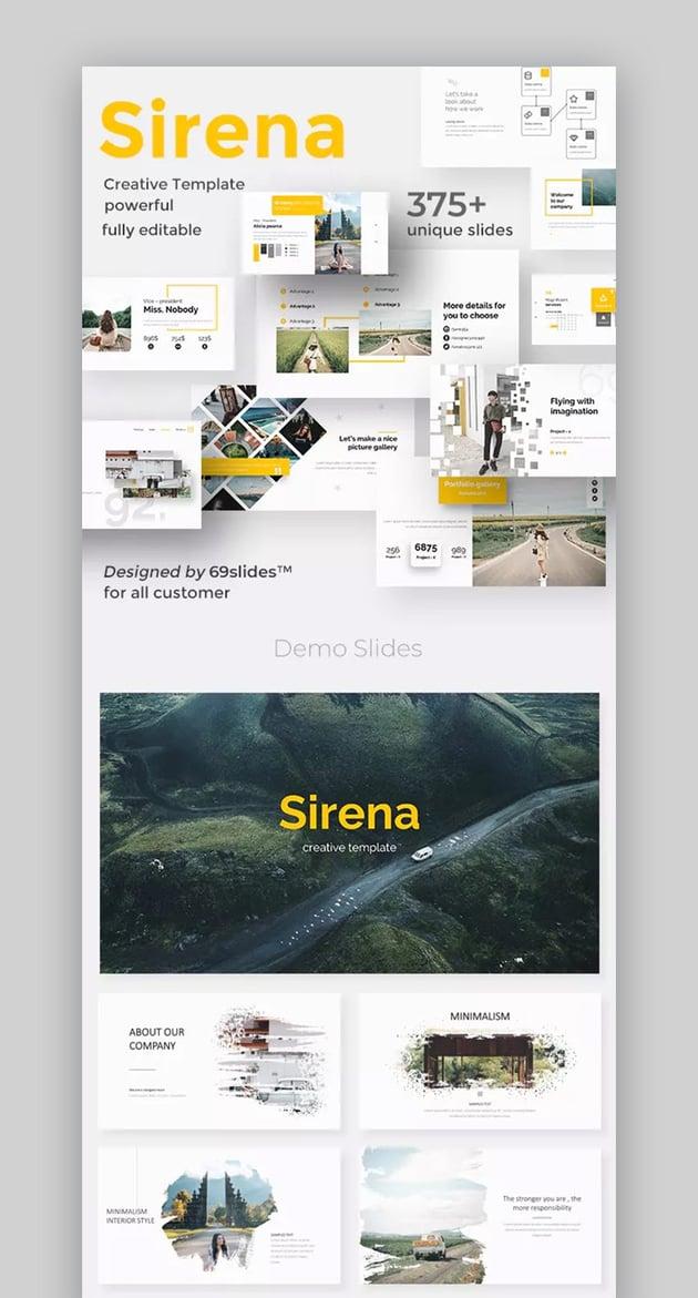 Sirena Premium PPT Template