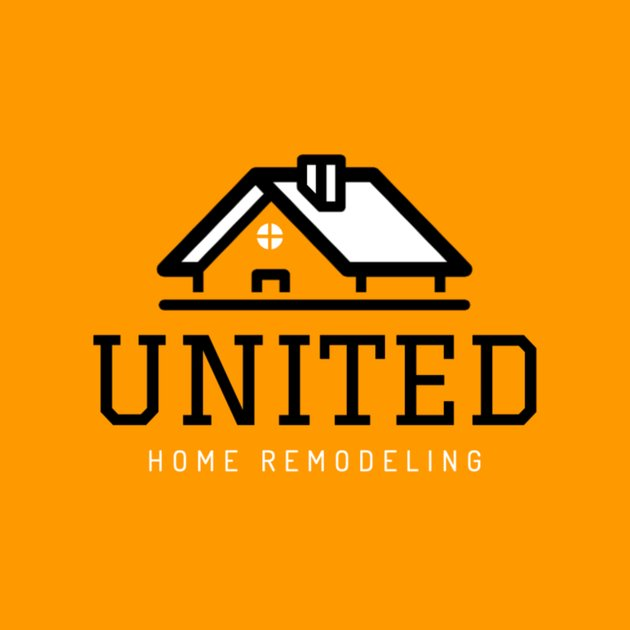 Home Remodeling Logo with Roof Graphics