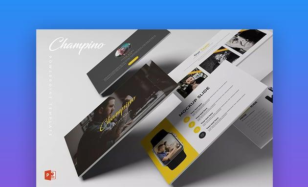 Champino PowerPoint Template