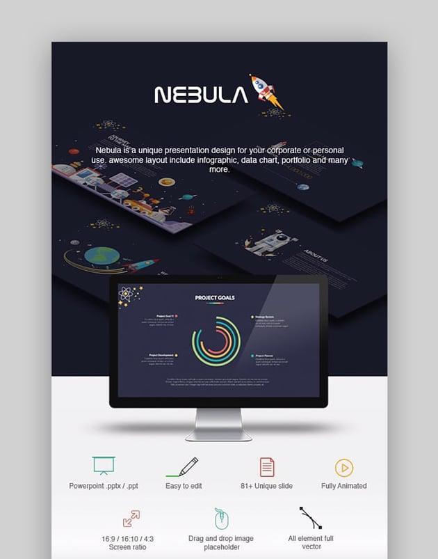 Nebula Beautiful PowerPoint Presentation